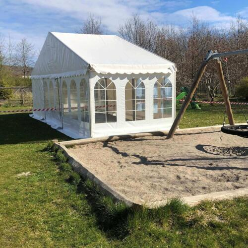 Corona tent